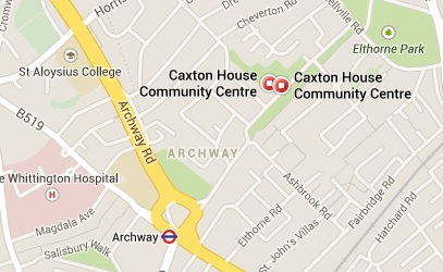 Caxton House map
