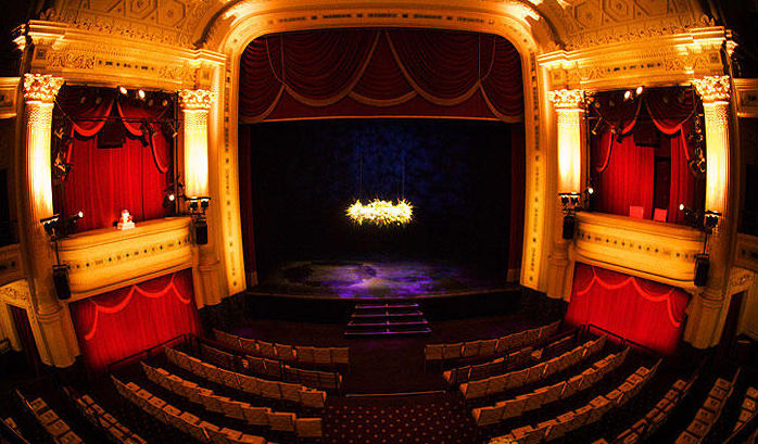 Hudson Theater Stage