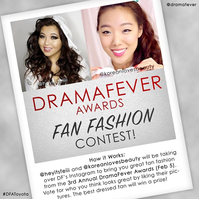 DramaFever Fan Fashion Contest