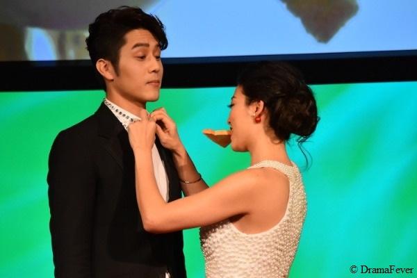 George Hu Arden Cho Toast Kiss DFA 2015