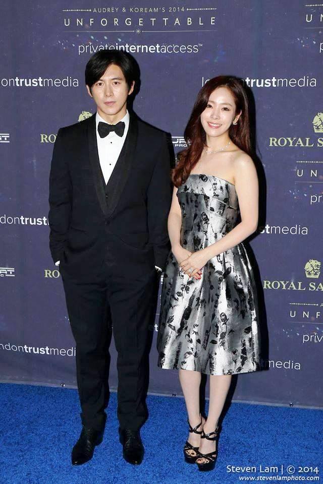 Actor Go Soo and actress Han Ji-min